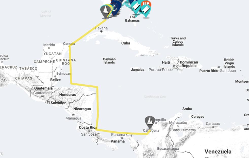 Sailing Map