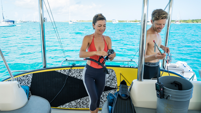 freediving and spear fishing in the bahamas