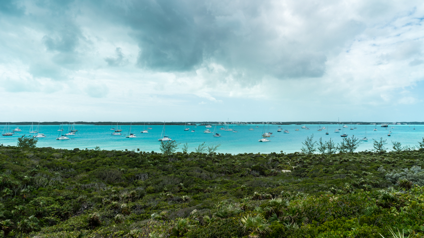 most popular anchorage in the bahamas