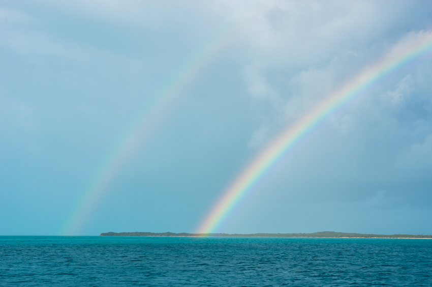 double rainbow sailing