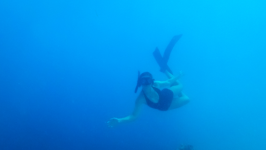 freediving deans blue hole