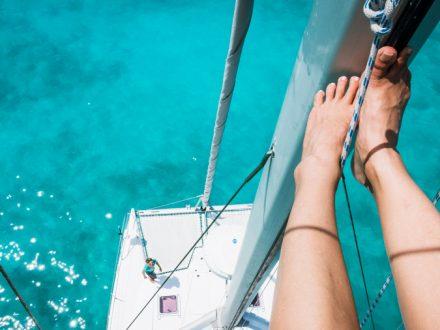 busted line sailing repairs