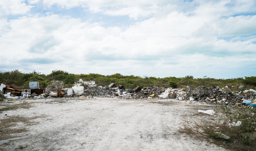 trash dump in the bahamas