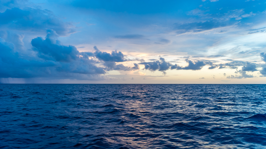 peace sailing at sea