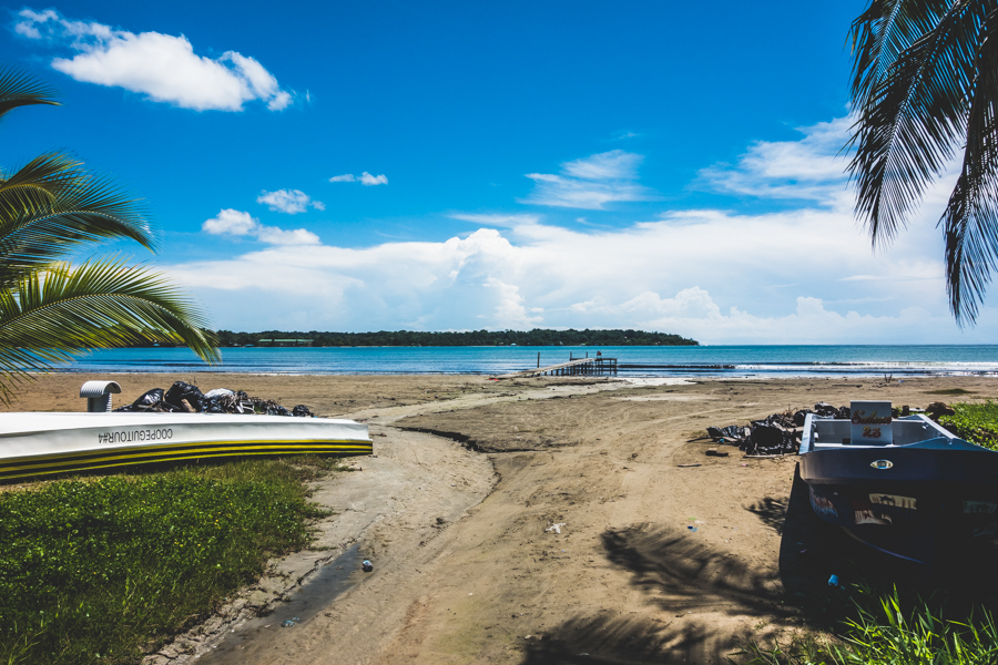 beach in bocas town