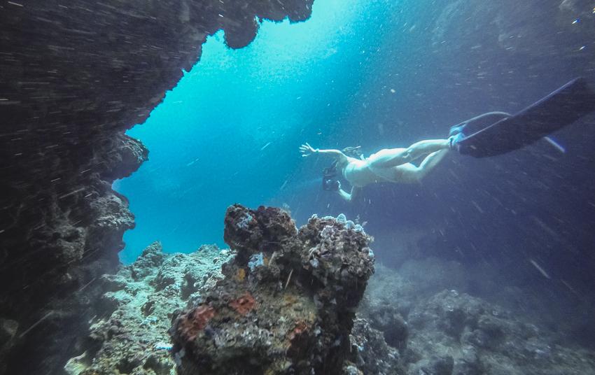 sailing and diving in Panama