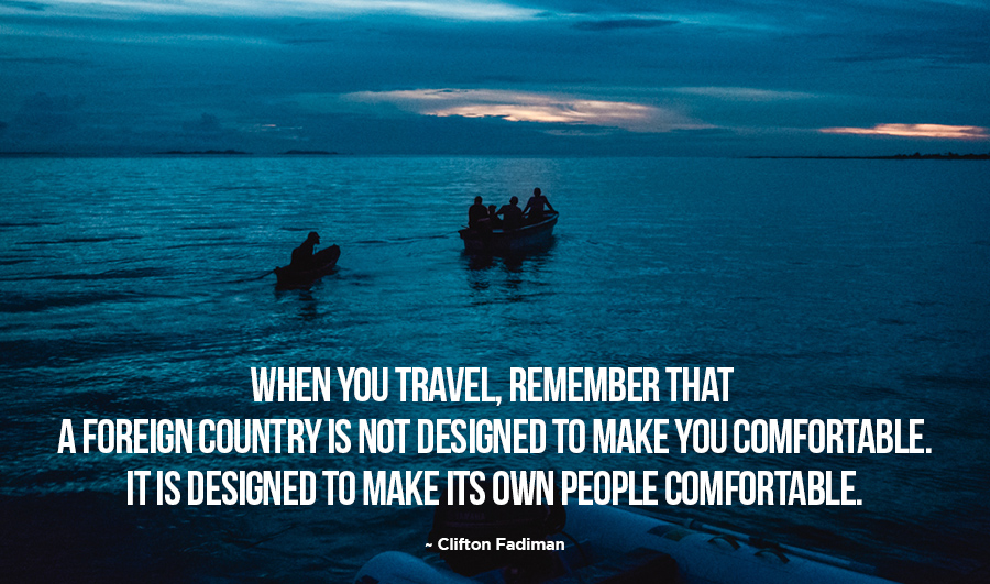 travel to foreign country