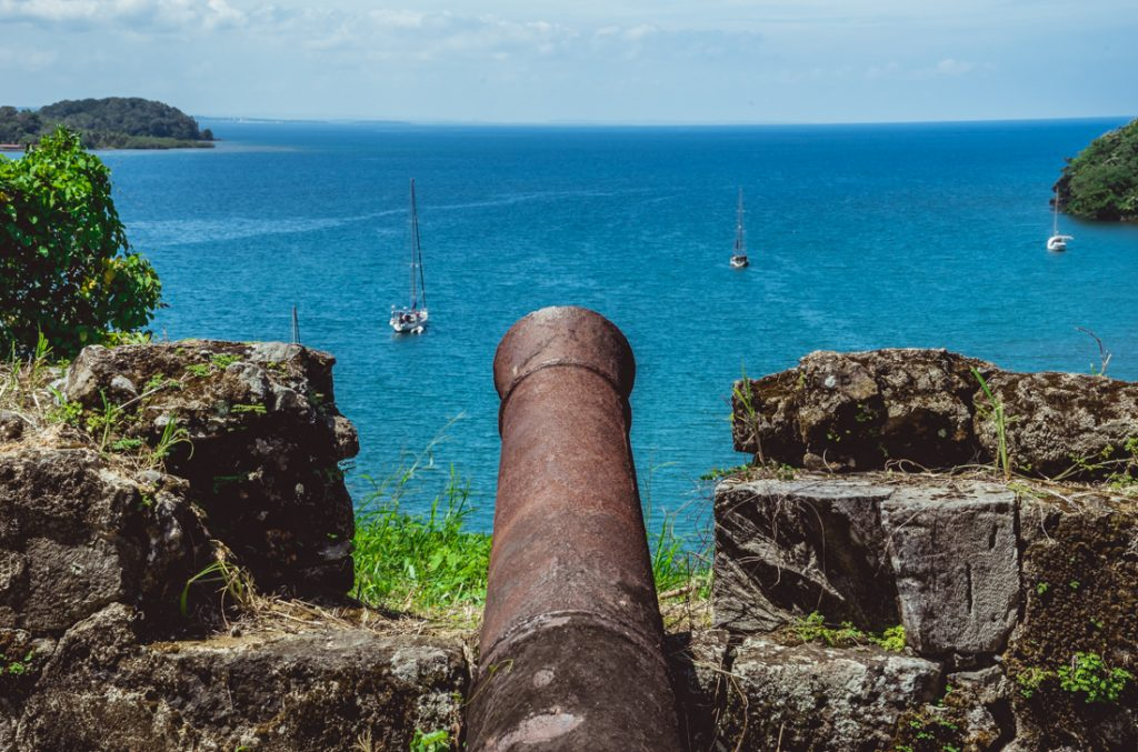 historical forts of panama