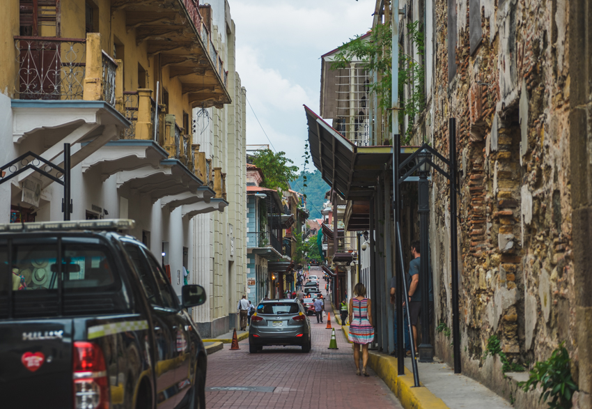 historic streets of Casco Viejo