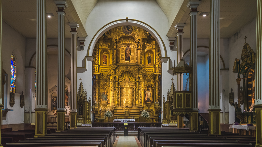 historic churches of panama