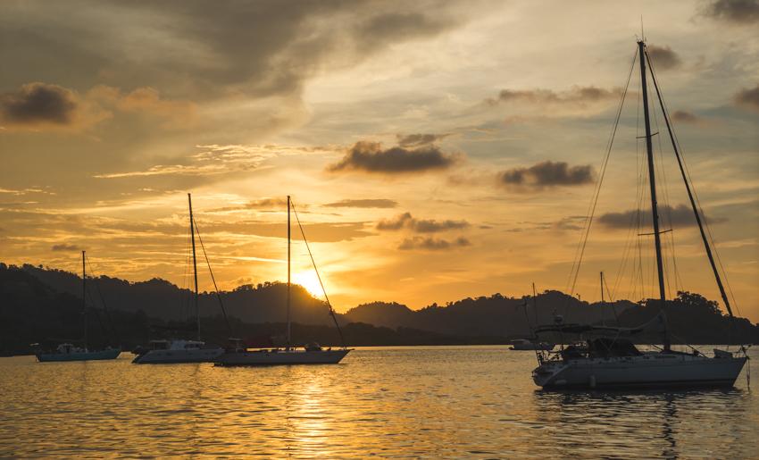 sailing linton bay panama
