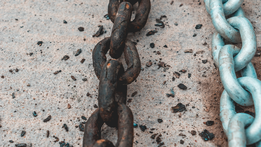 new anchor chain for sailboat
