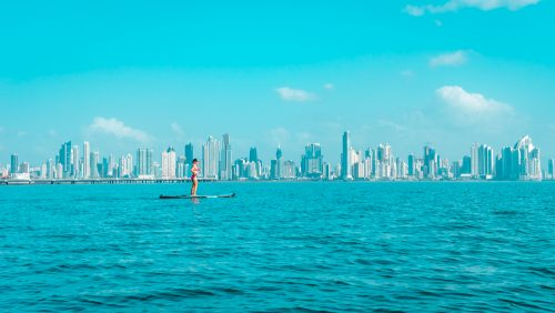 stand up paddle boarding panama city