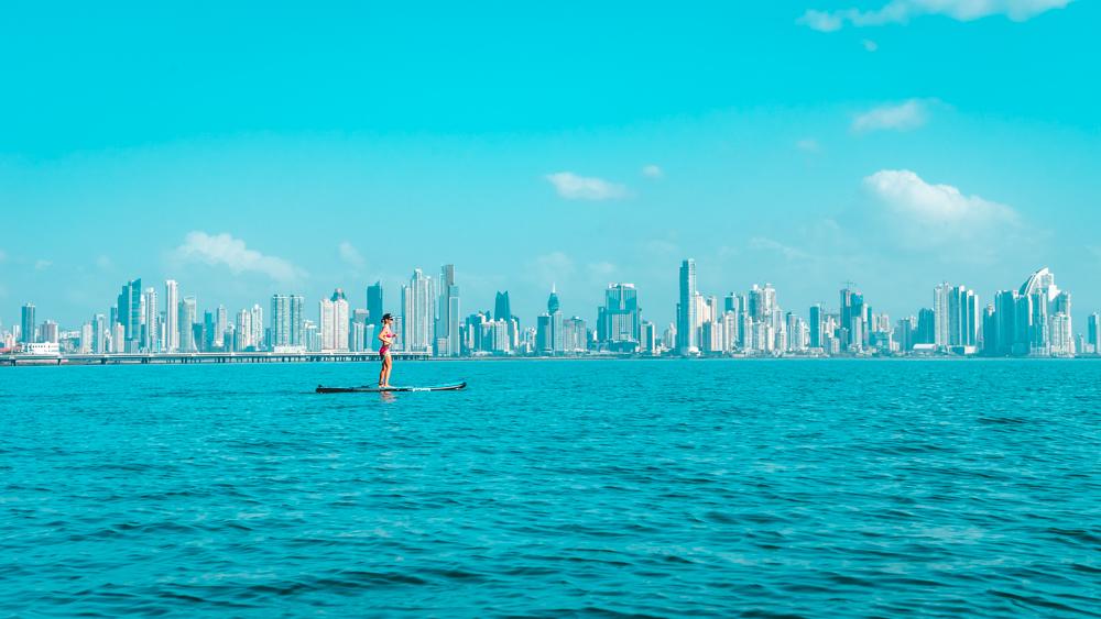 stand up paddle boarding panama city