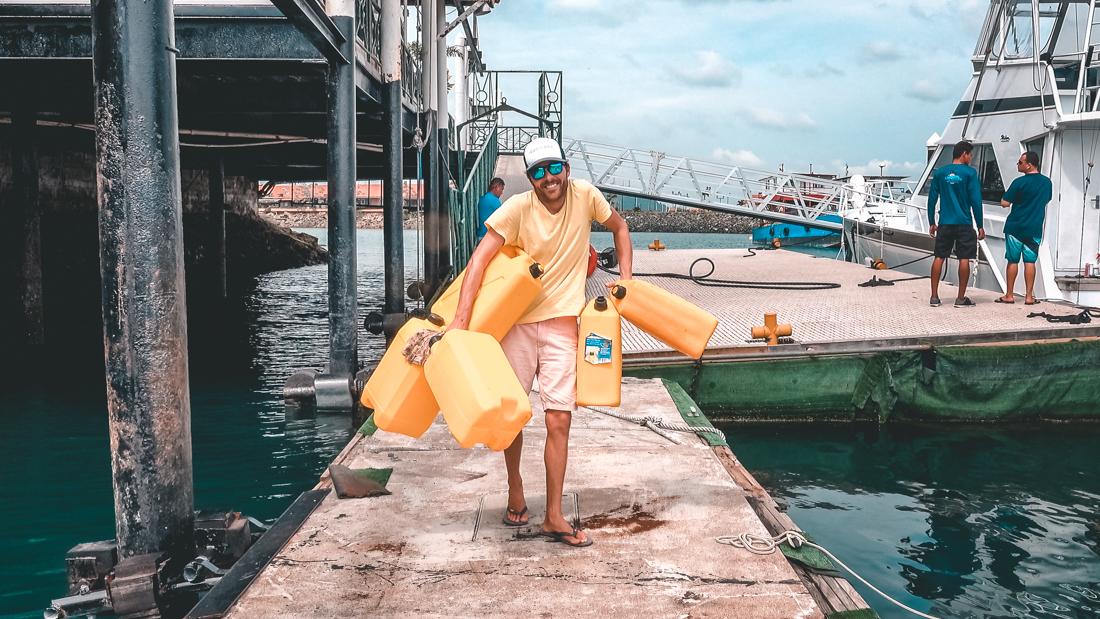 Leavin Ain't Easy – Sailing Outta Panama