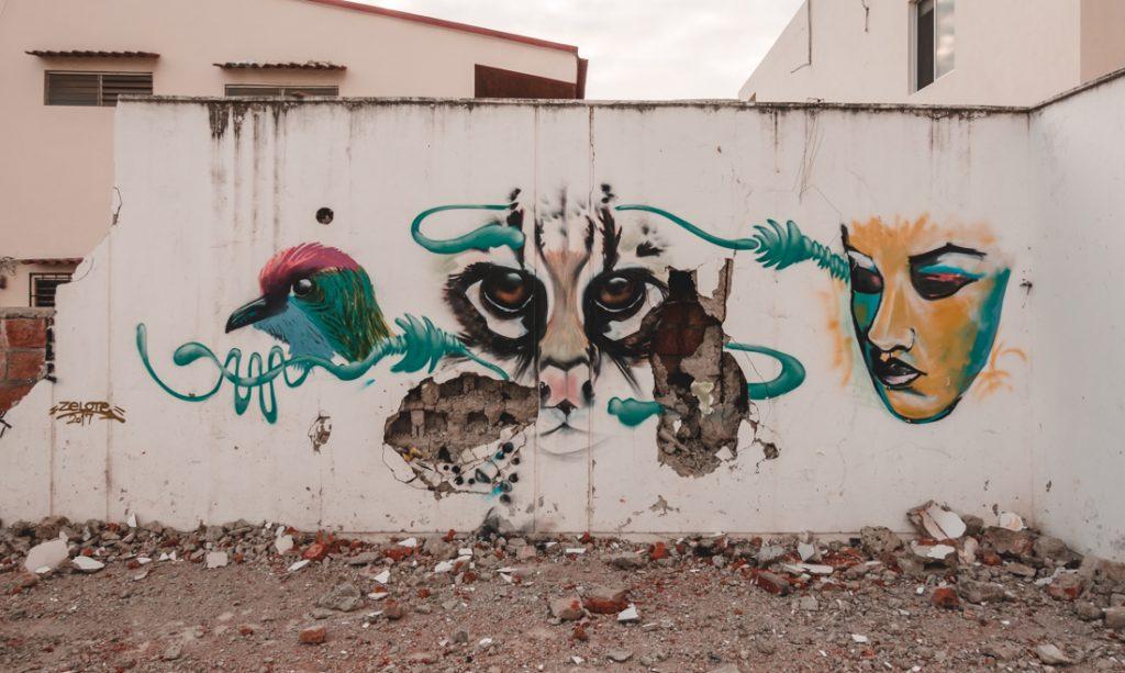 street art Ecuador