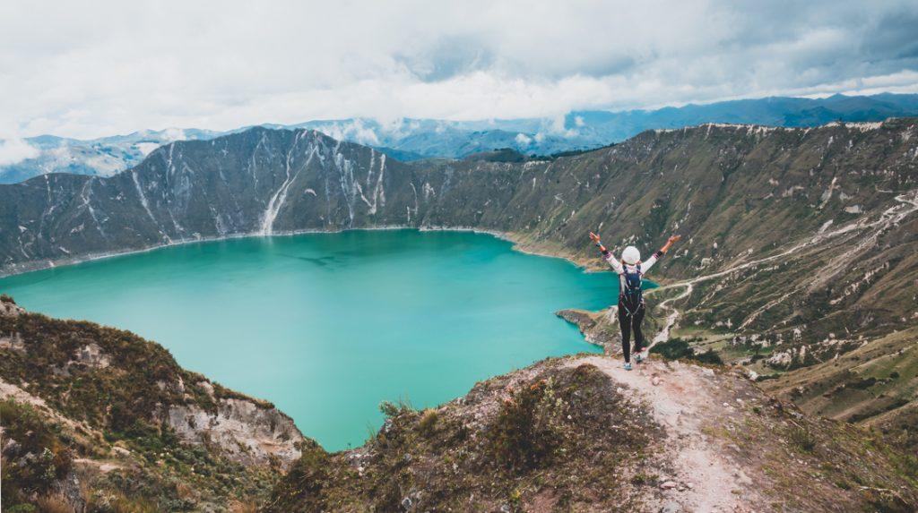 epic hiking in Ecuador