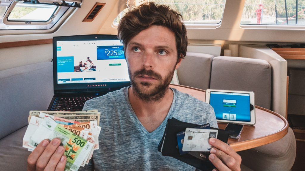 Managing Money While Traveling and sailing Around The World