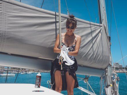 prep for pacific ocean crossing