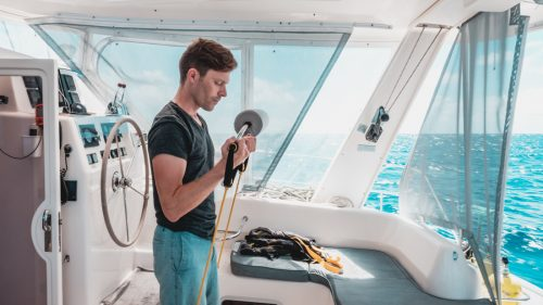 staying fit at sea