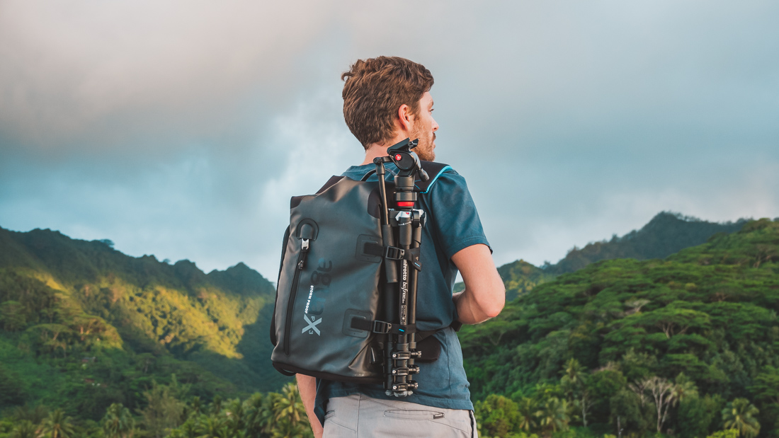best travel adventure waterproof camera backpack