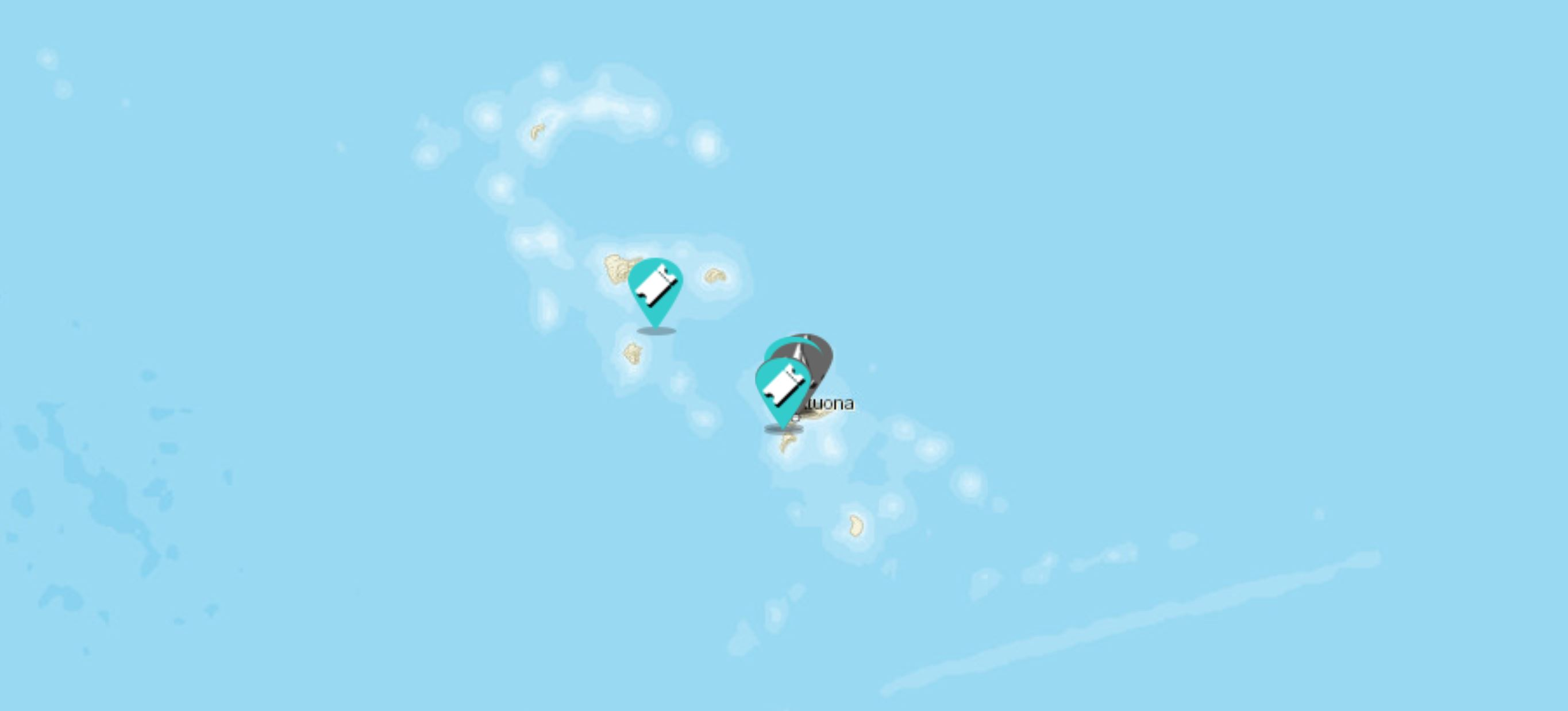 Marquesas Sailing Map
