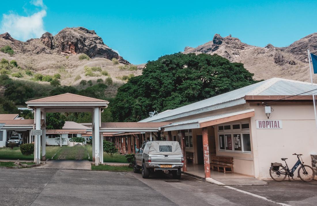 remote island hospital