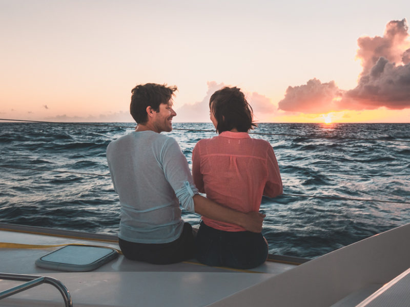 Jason and Nikki Wynn sailing the dangerous archipelago