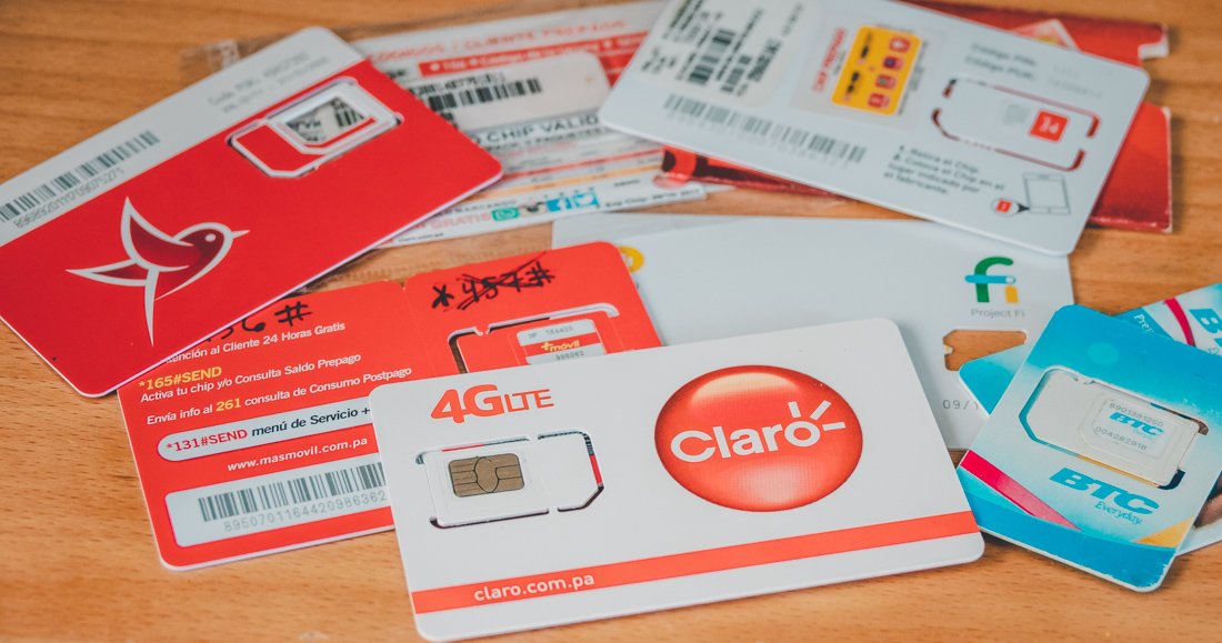 buying SIM cards abroad to stay connected