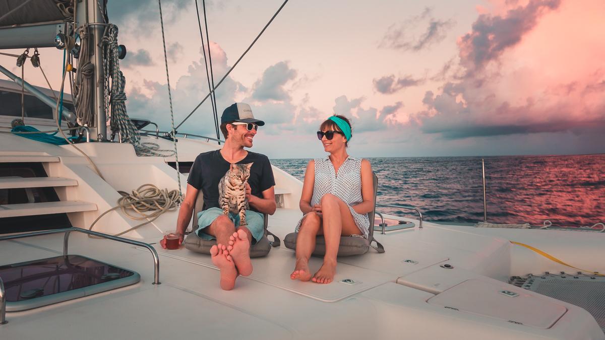 jason and nikki wynn sailing and celebrating love