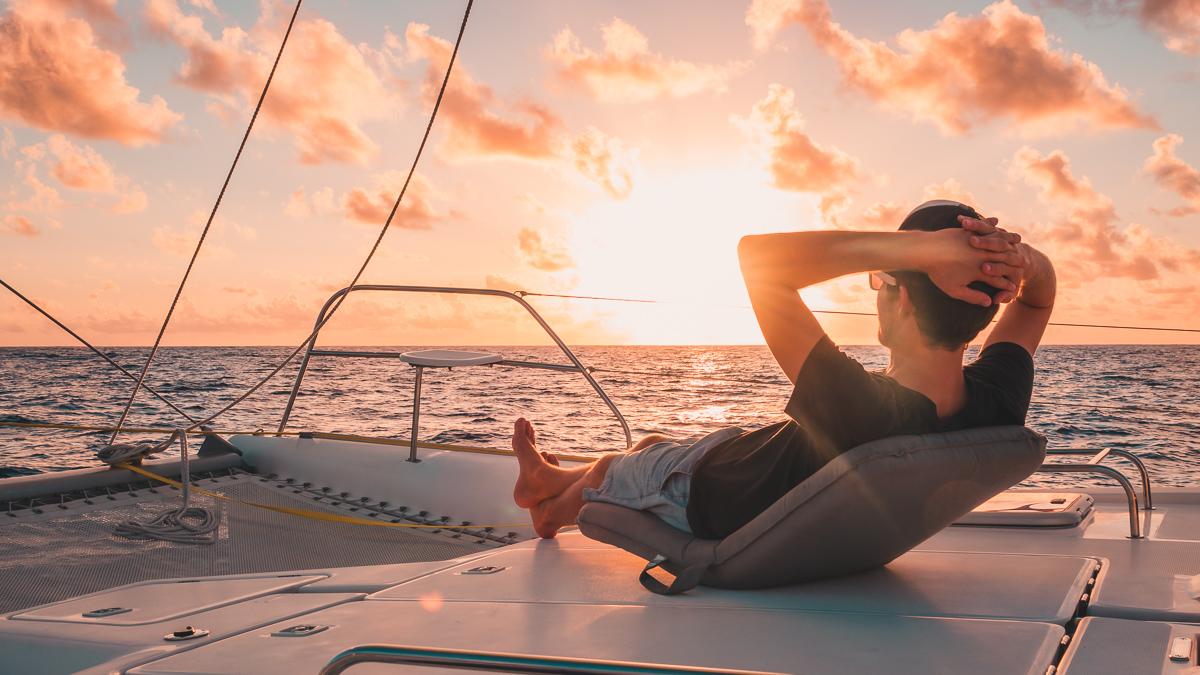 jason wynn loving the super chill downwind sailing