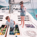 how we get squeaky clean water on our sailboat