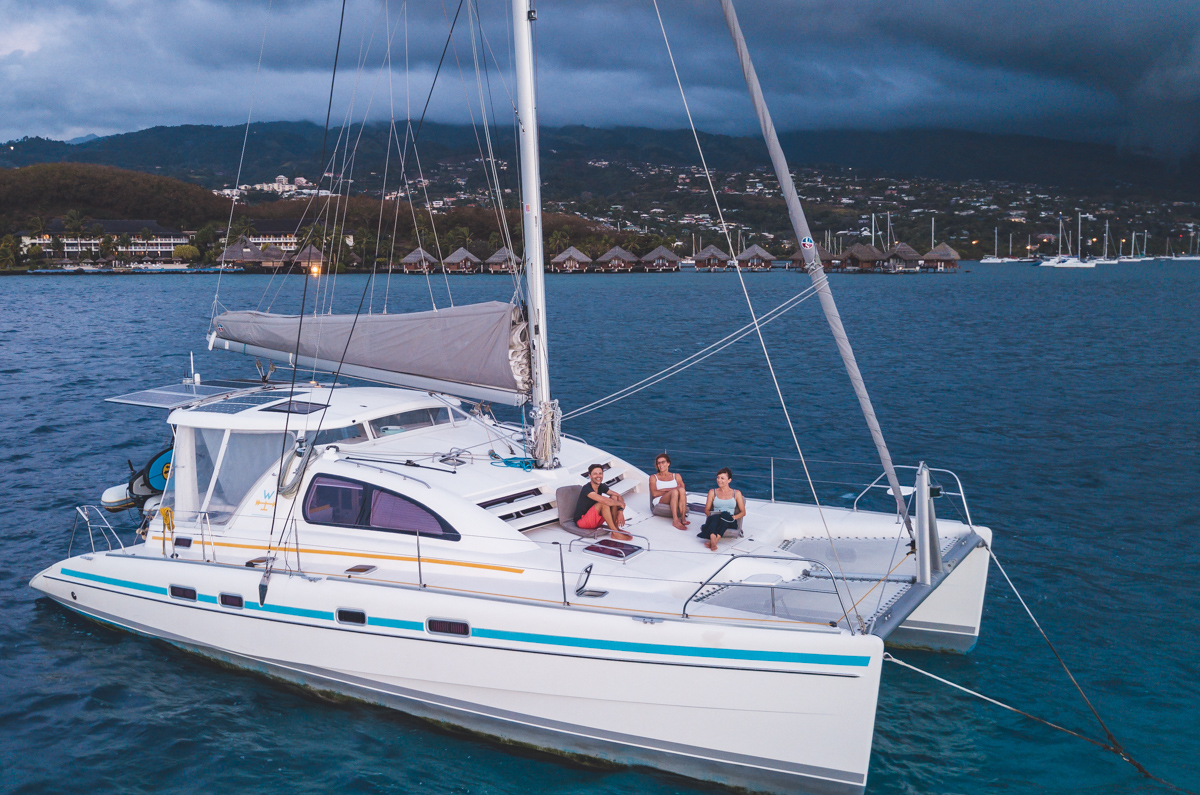 family sailing adventures in the south pacific