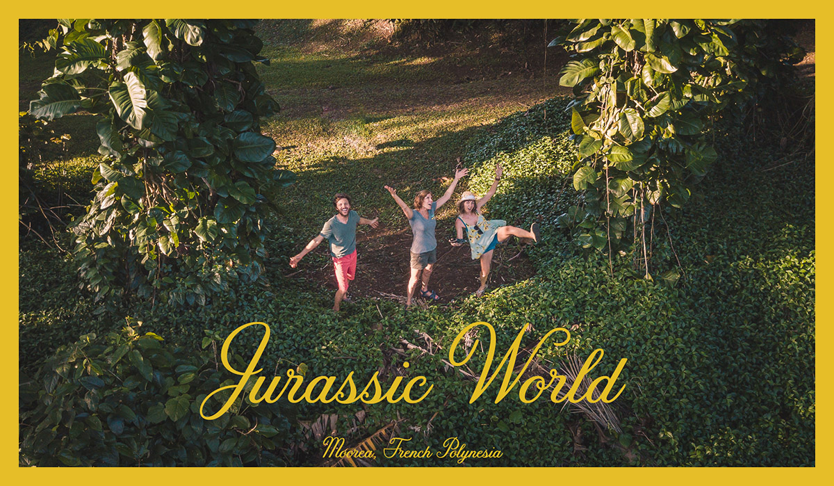 the wynns in the jurassic world of moorea french polynesia