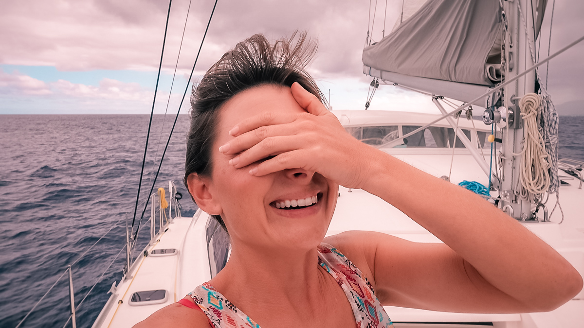 nikki wynn face palm for not spotting the whales