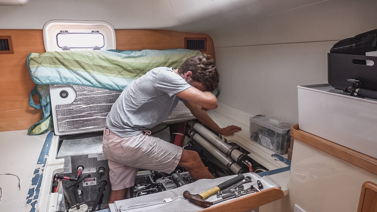 boat life and endless repairs with jason wynn