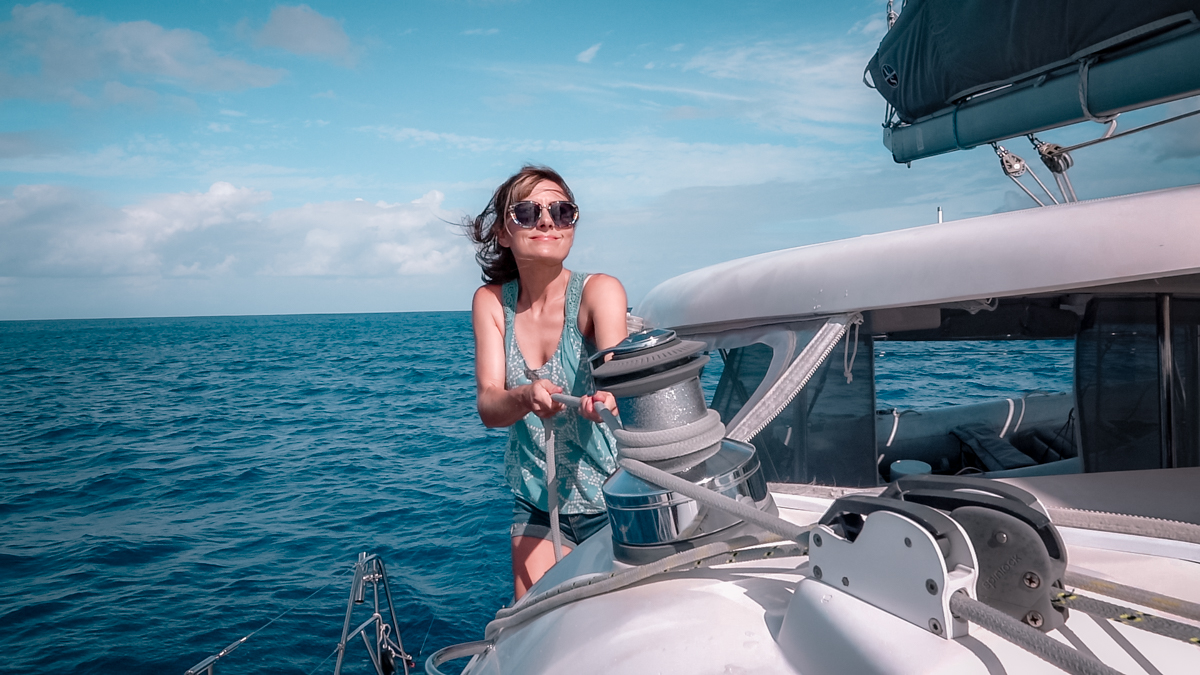 nikki wynn Sailing To Tahaa French Polynesia