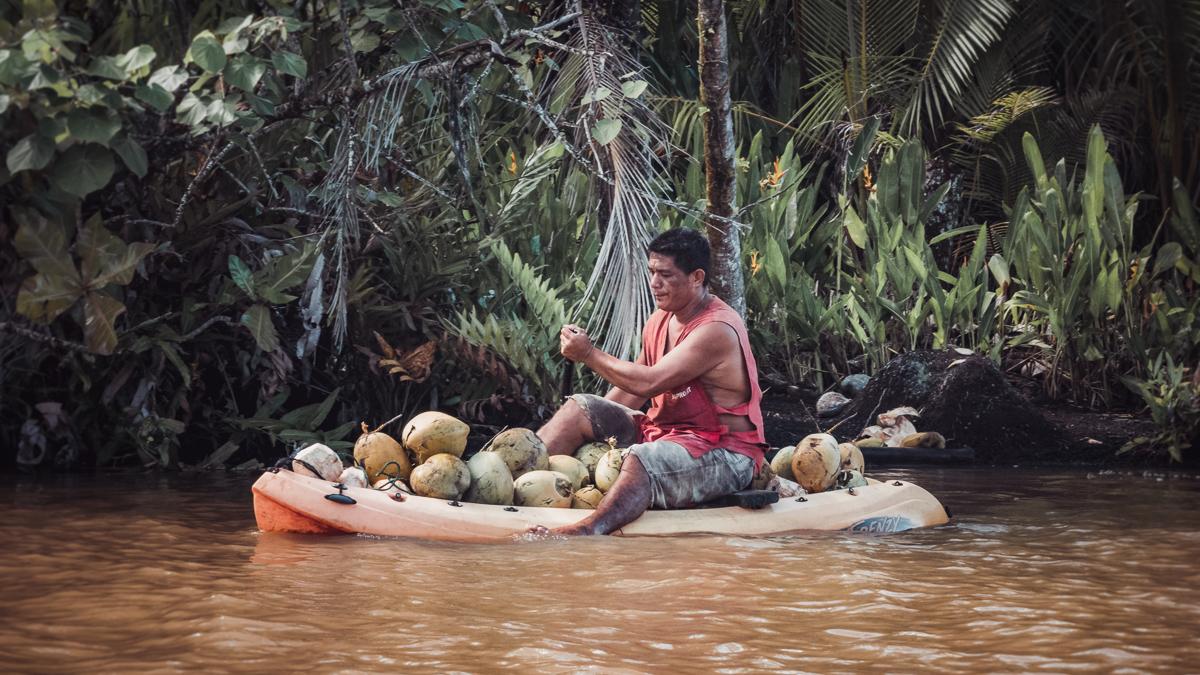 river guide james in raiatea french polynesia