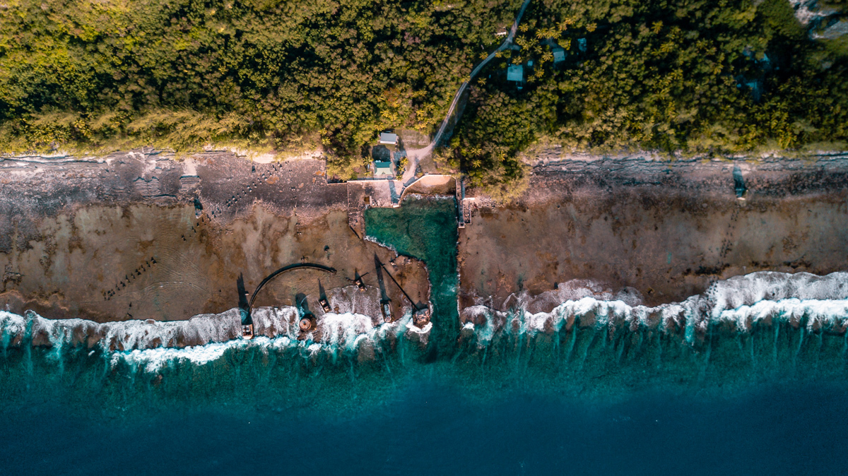 Sailing to Makatea in the Dangerous Archipelago of Tuamotu