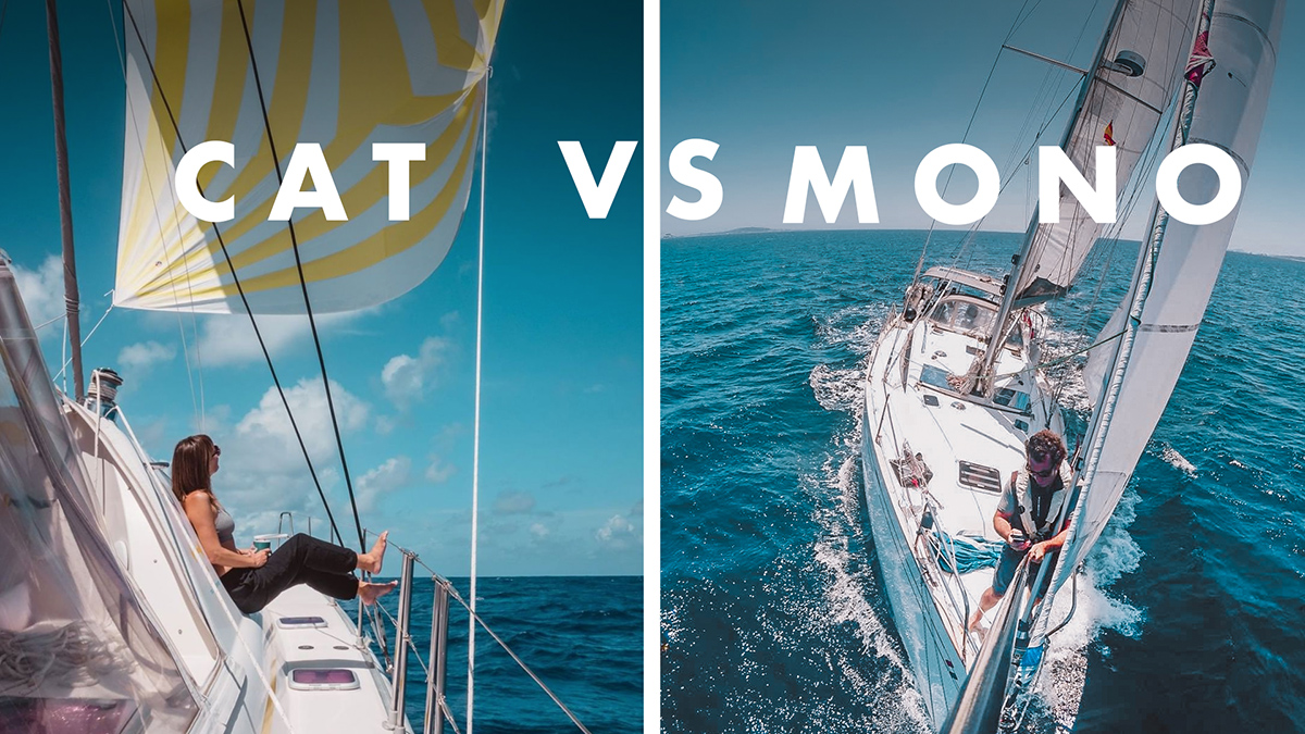 catamaran vs monohull which is safer and more comfortable