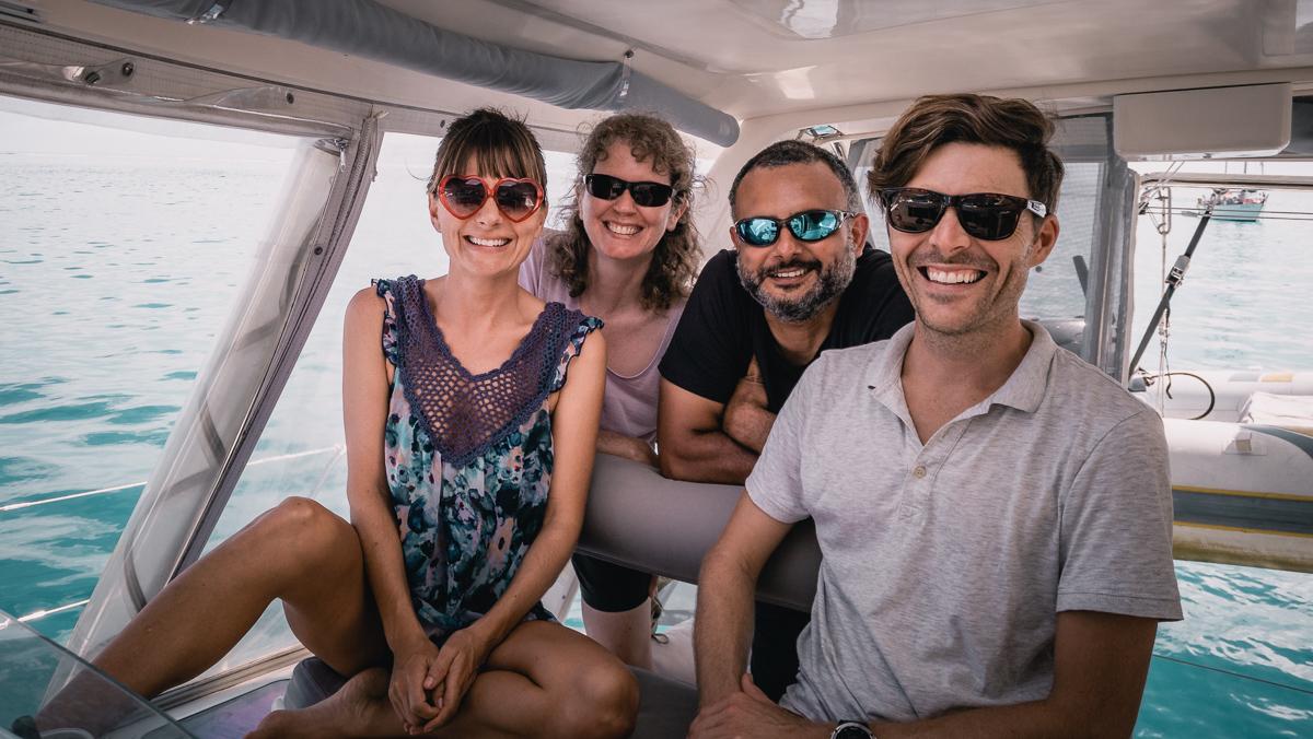 new crew aboard curiosity with Jason and Nikki Wynn