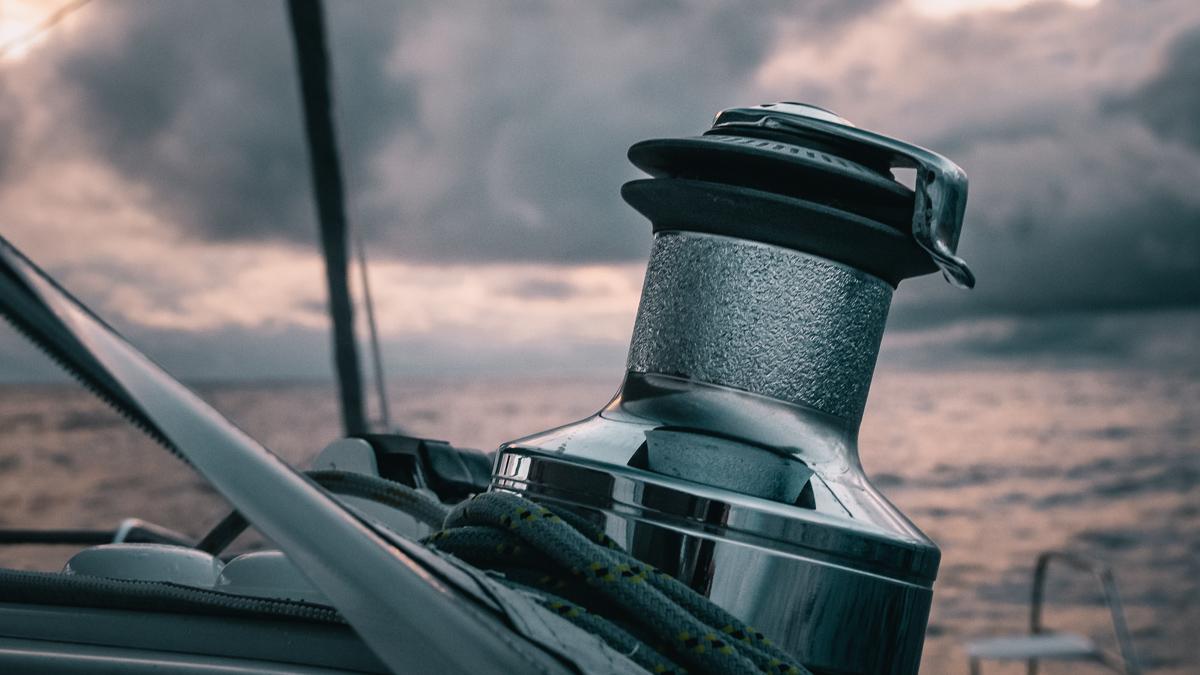 seascapes aboard sailing catamaran curiosity