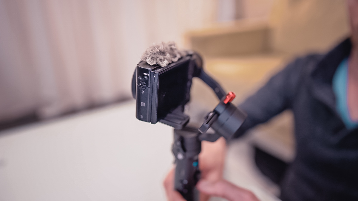 m2 gimbal with rx100 and other small cameras