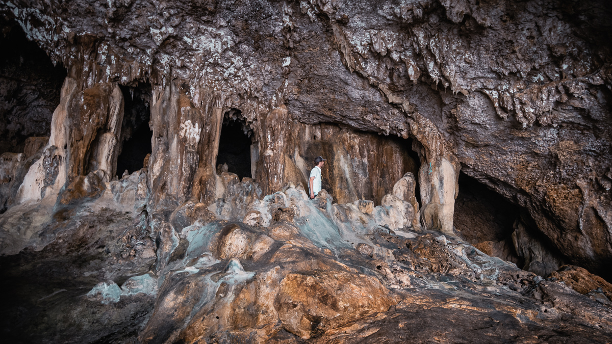 most extensive cave system in the south pacific, niue