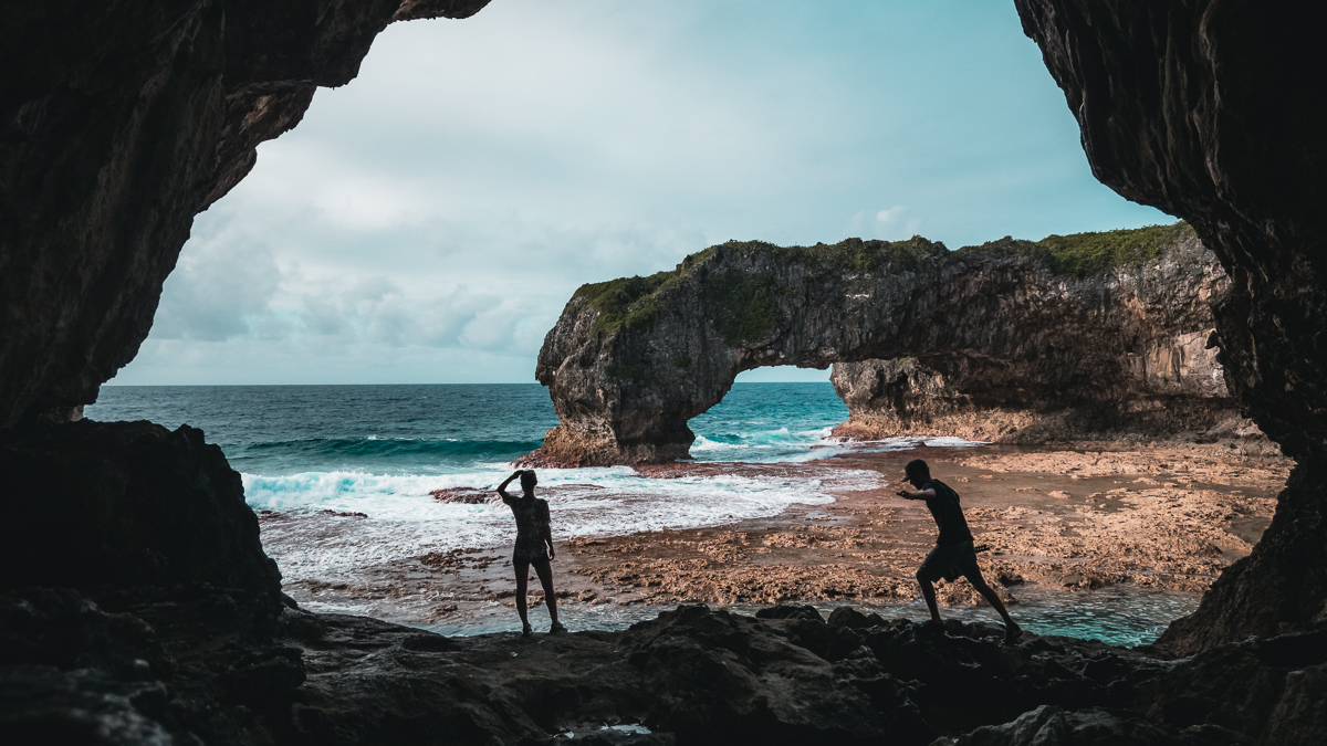 jason and nikki wynn exploring the most incredible island in the south pacific, niue