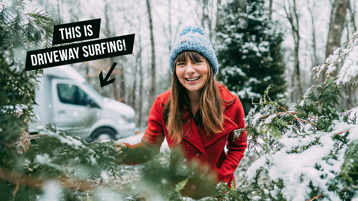 moochdocking driveway surfing