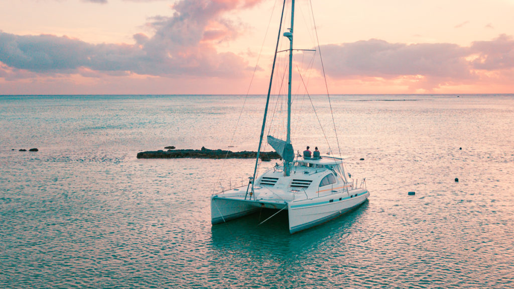 costs of living full time on a sailing catamaran