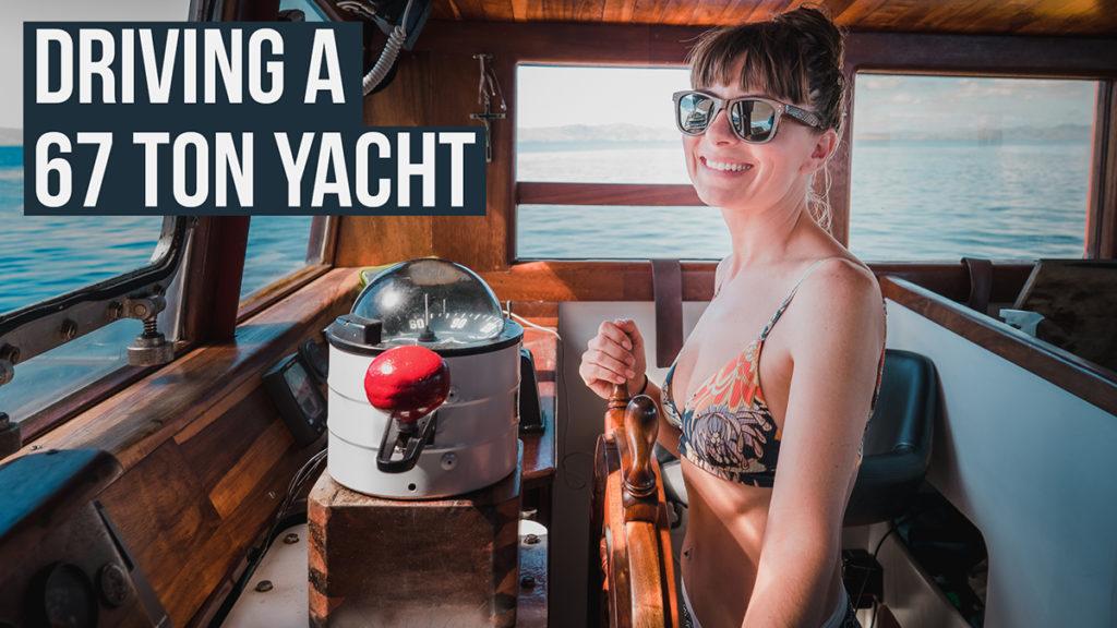 nikki wynn sailing a 67 ton yacht big boat life