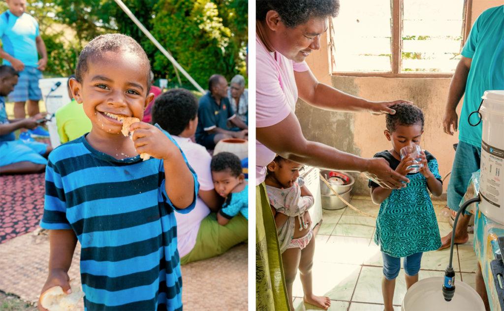 fiji village kids