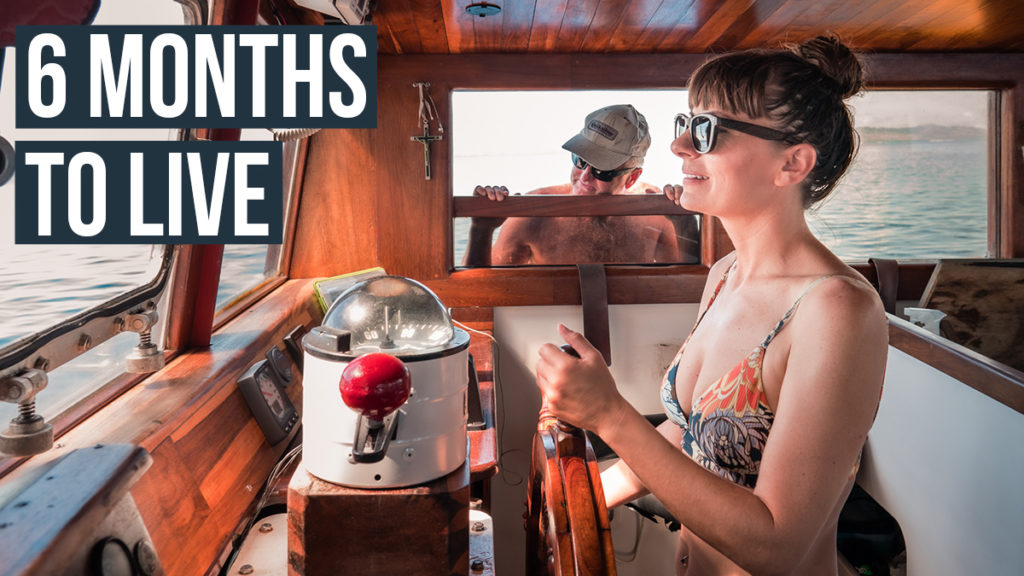 sailing with 6 months to live with mark paarman and the wynns